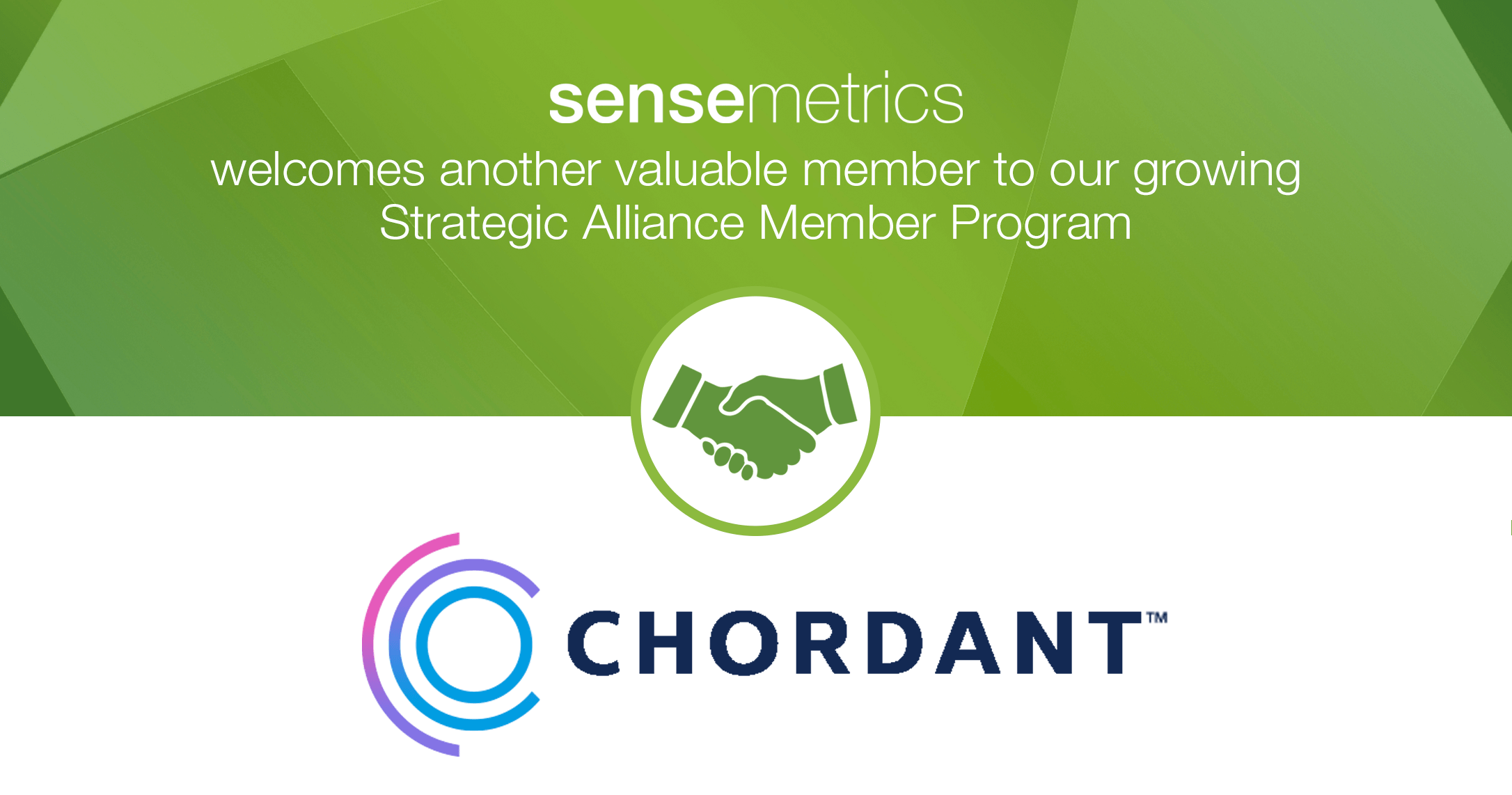 New Strategic Alliance Member: Chordant