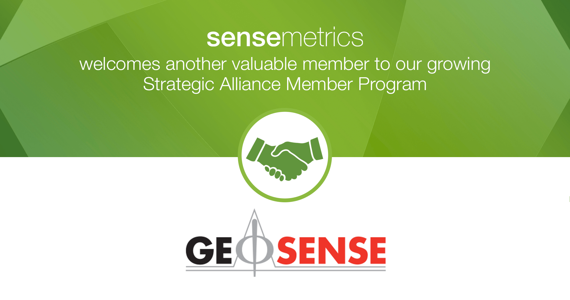 New Strategic Alliance Member: Geosense