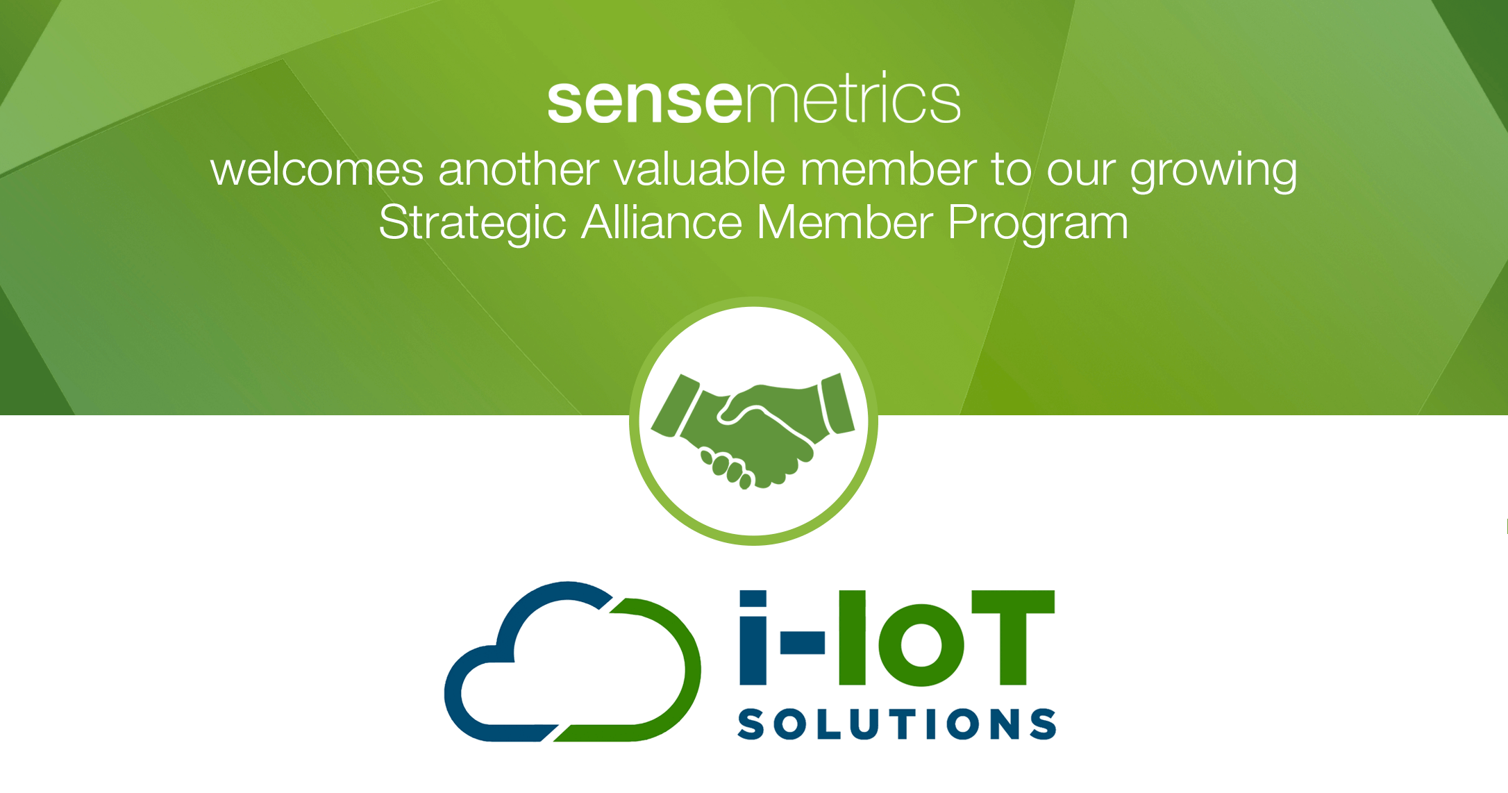 New sensemetrics Strategic Alliance Member!