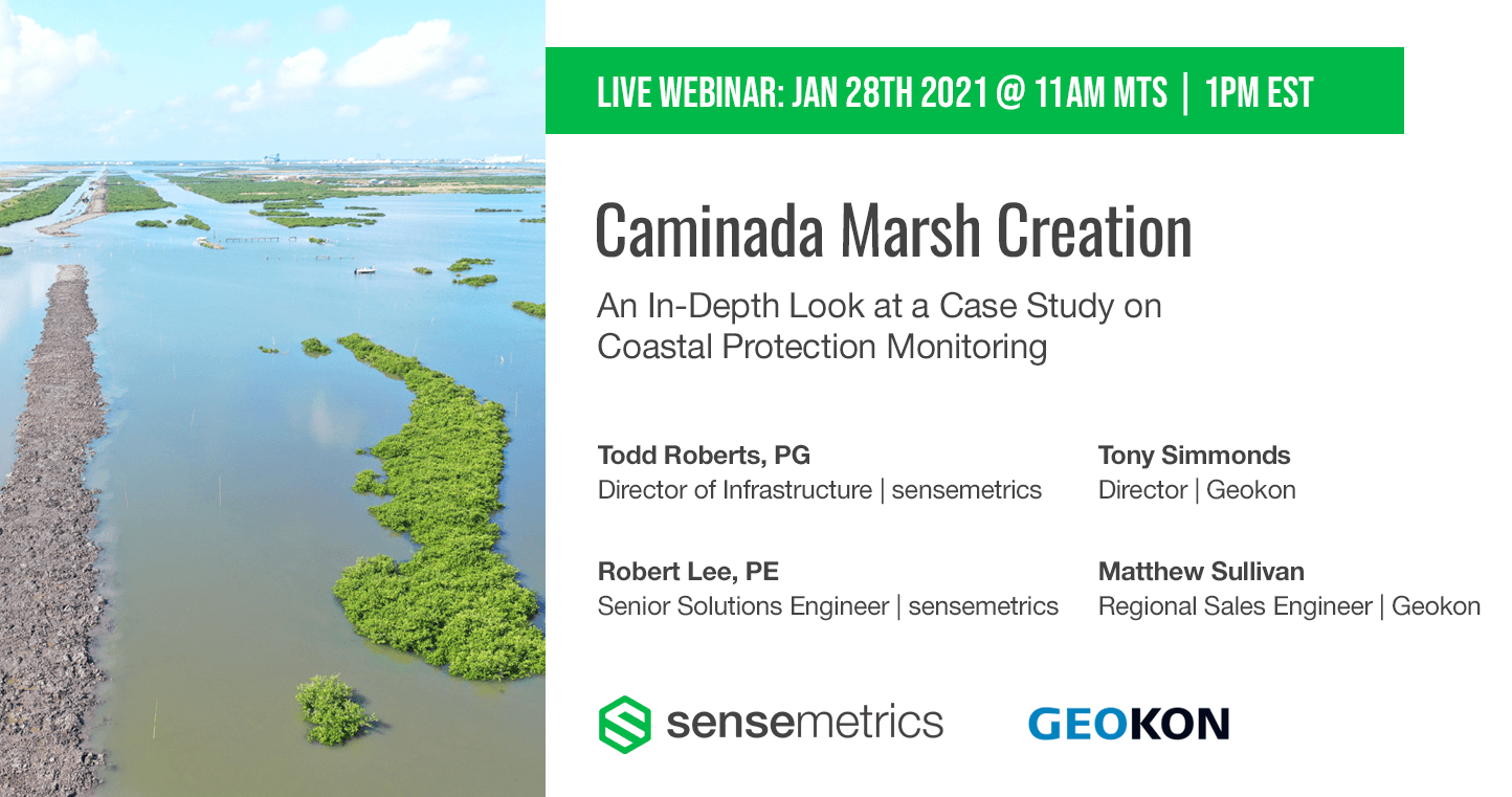 Live Webinar: Caminada Marsh Creation