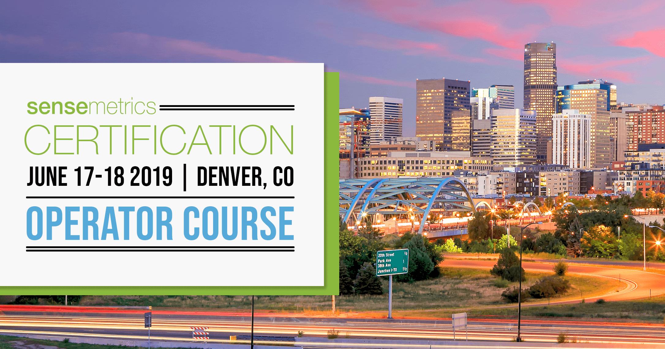Operator Course: June 17-18