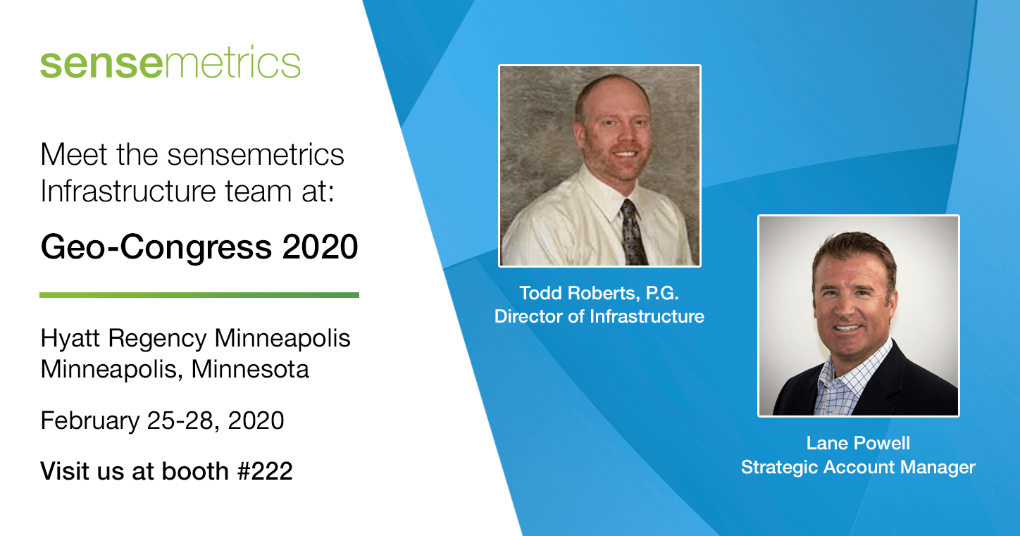 Meet Our Infrastructure Team at Geo-Congress 2020