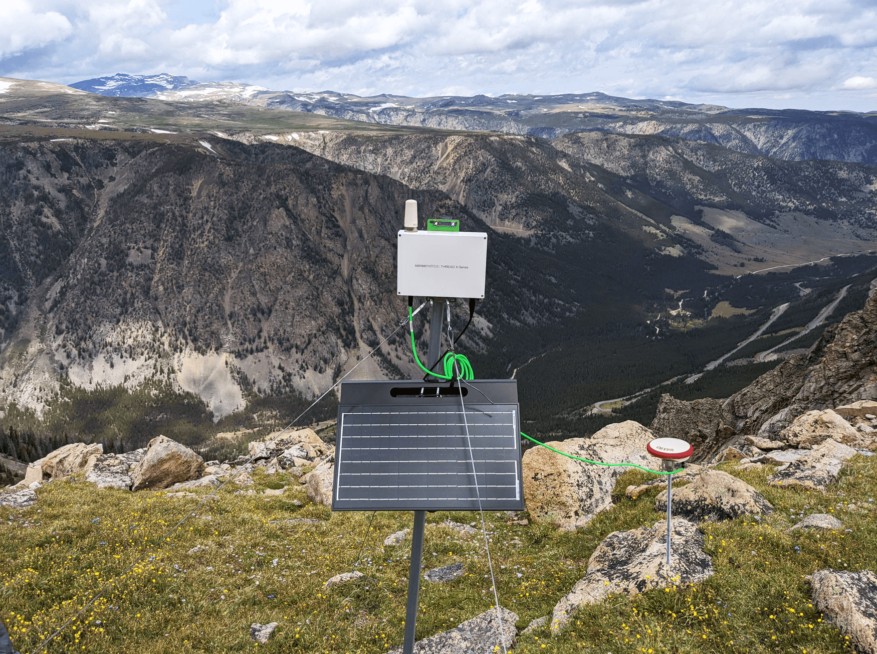 Landslide Monitoring of Beartooth Highway