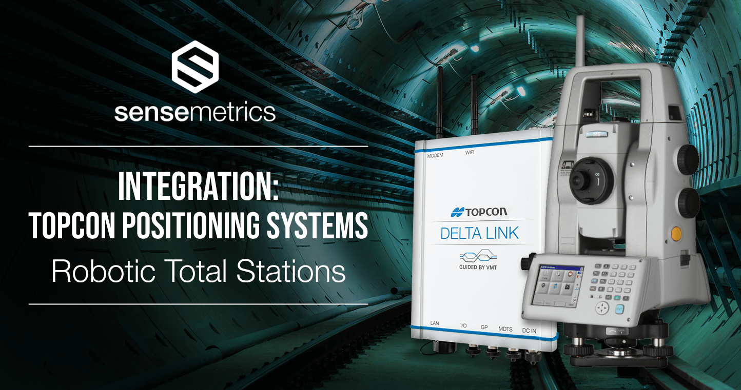 Integrations: Topcon Robotic Total Stations