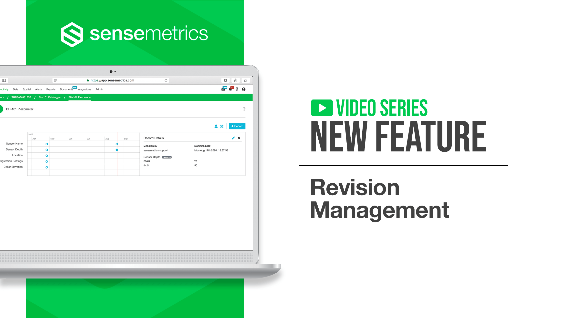 New Feature: Revision Management