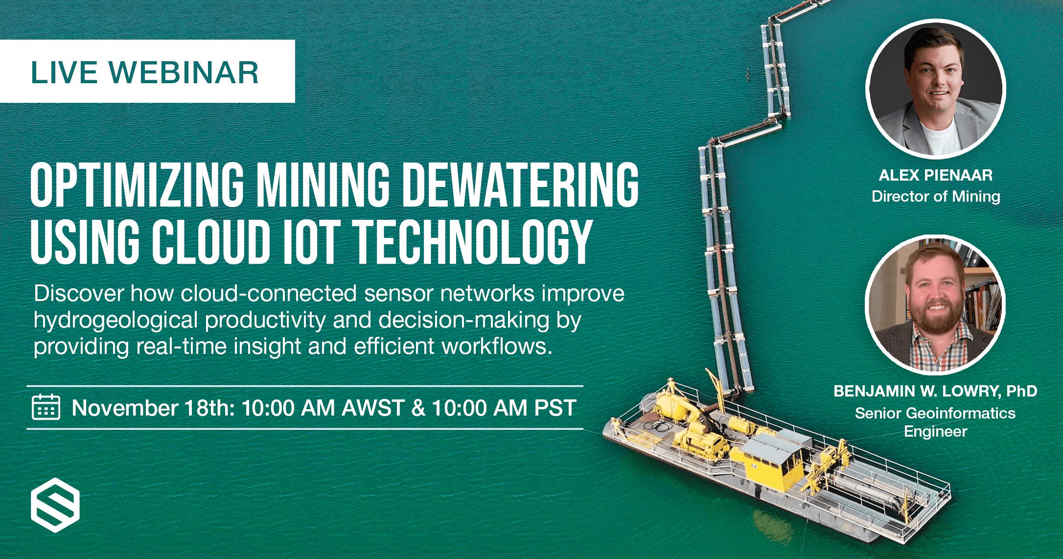 Live Webinar: Optimizing Mining Dewatering