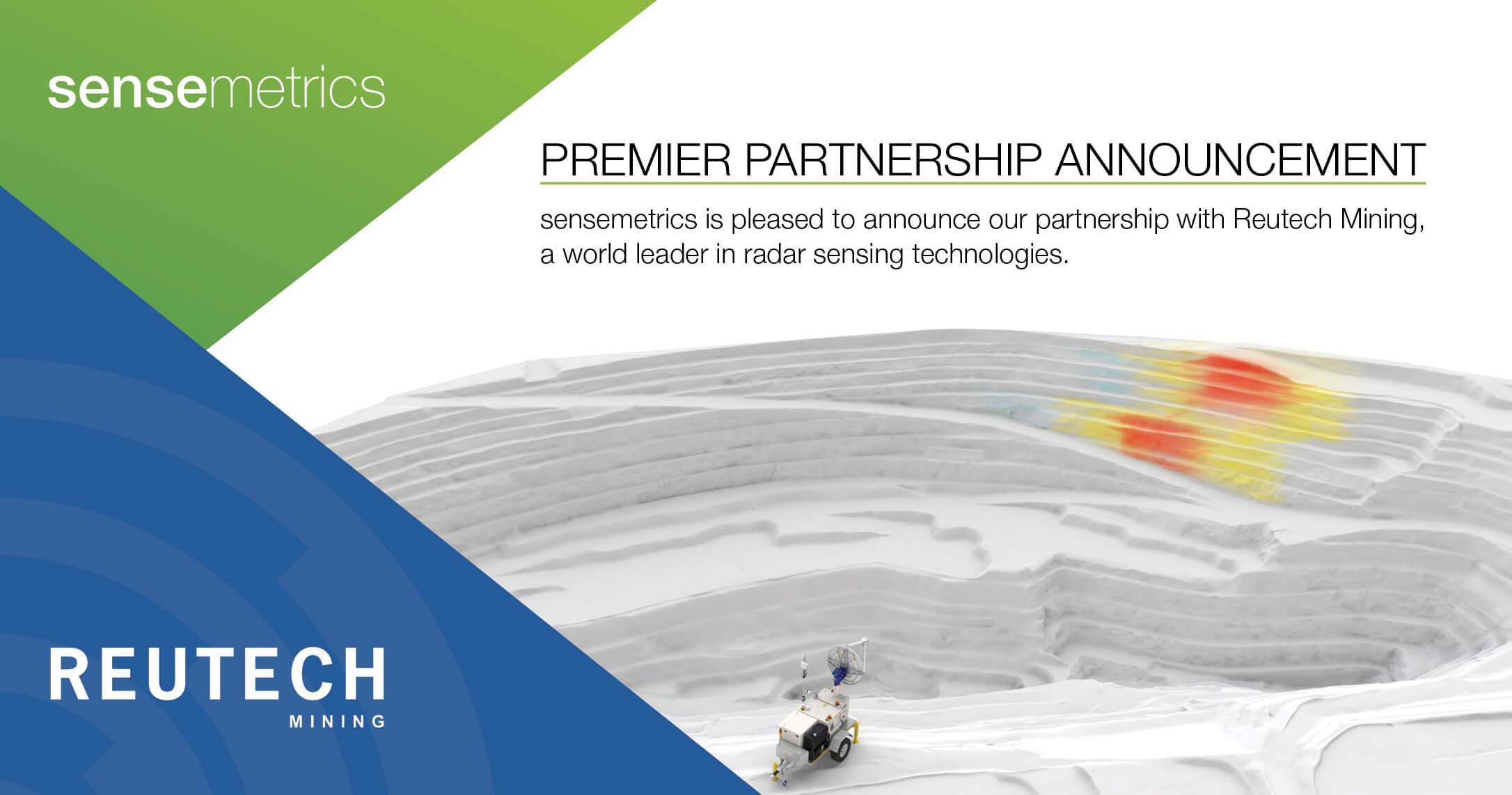 sensemetrics Partners with Reutech Mining