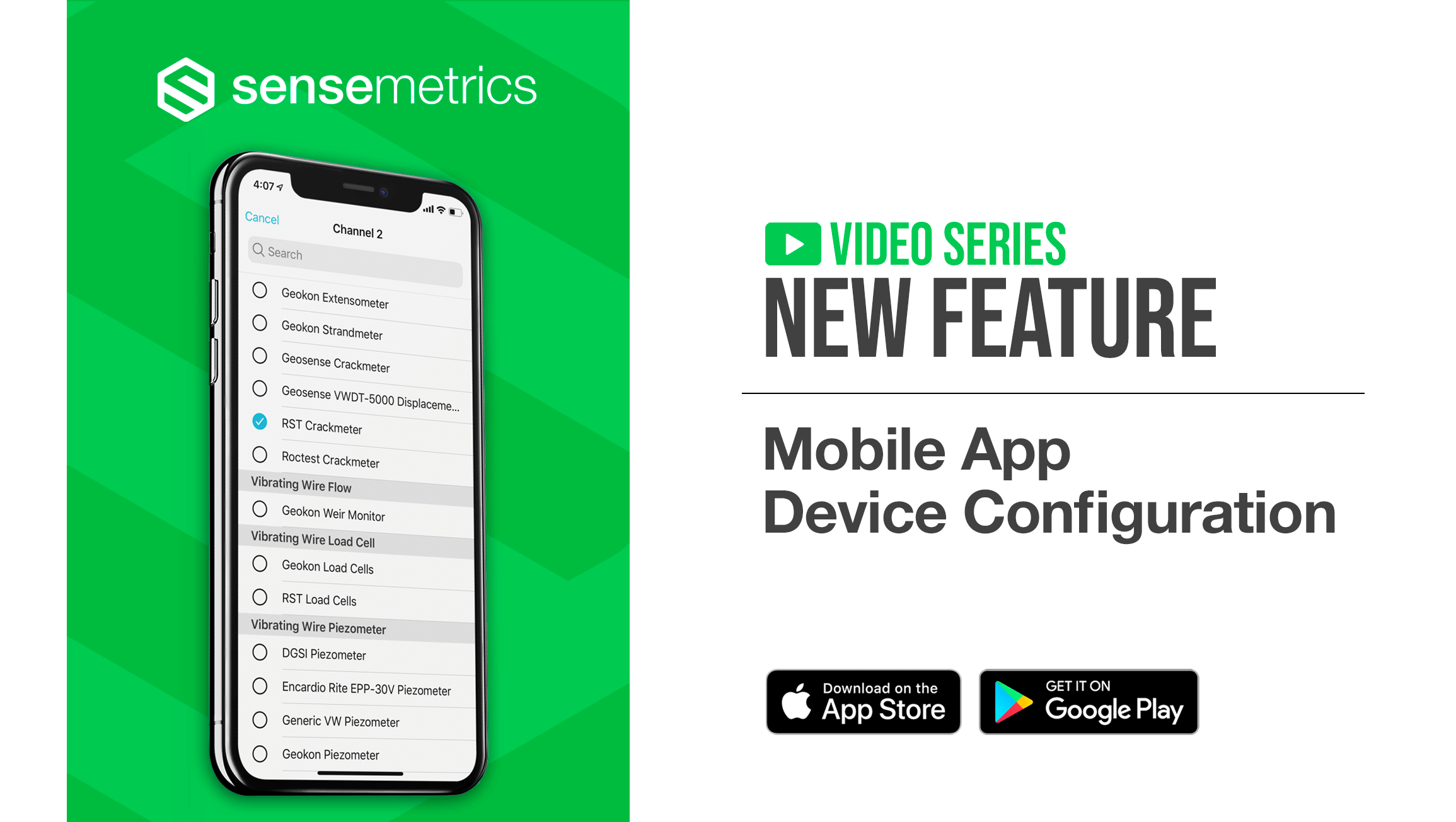 New Mobile App Feature: Device Configuration