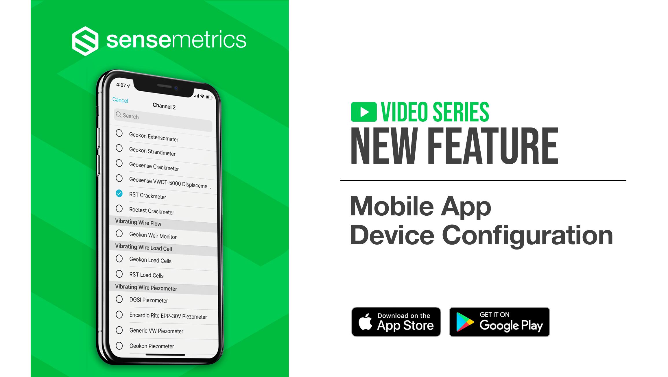 New Mobile App Feature: Device Configuration