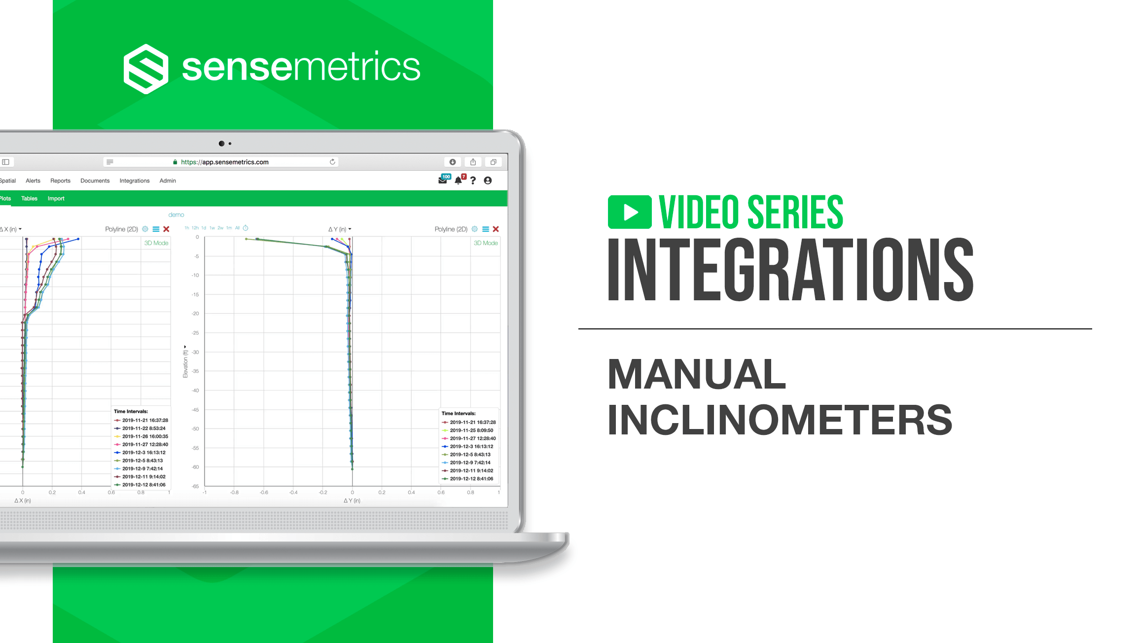 New Integration: Manual Inclinometers