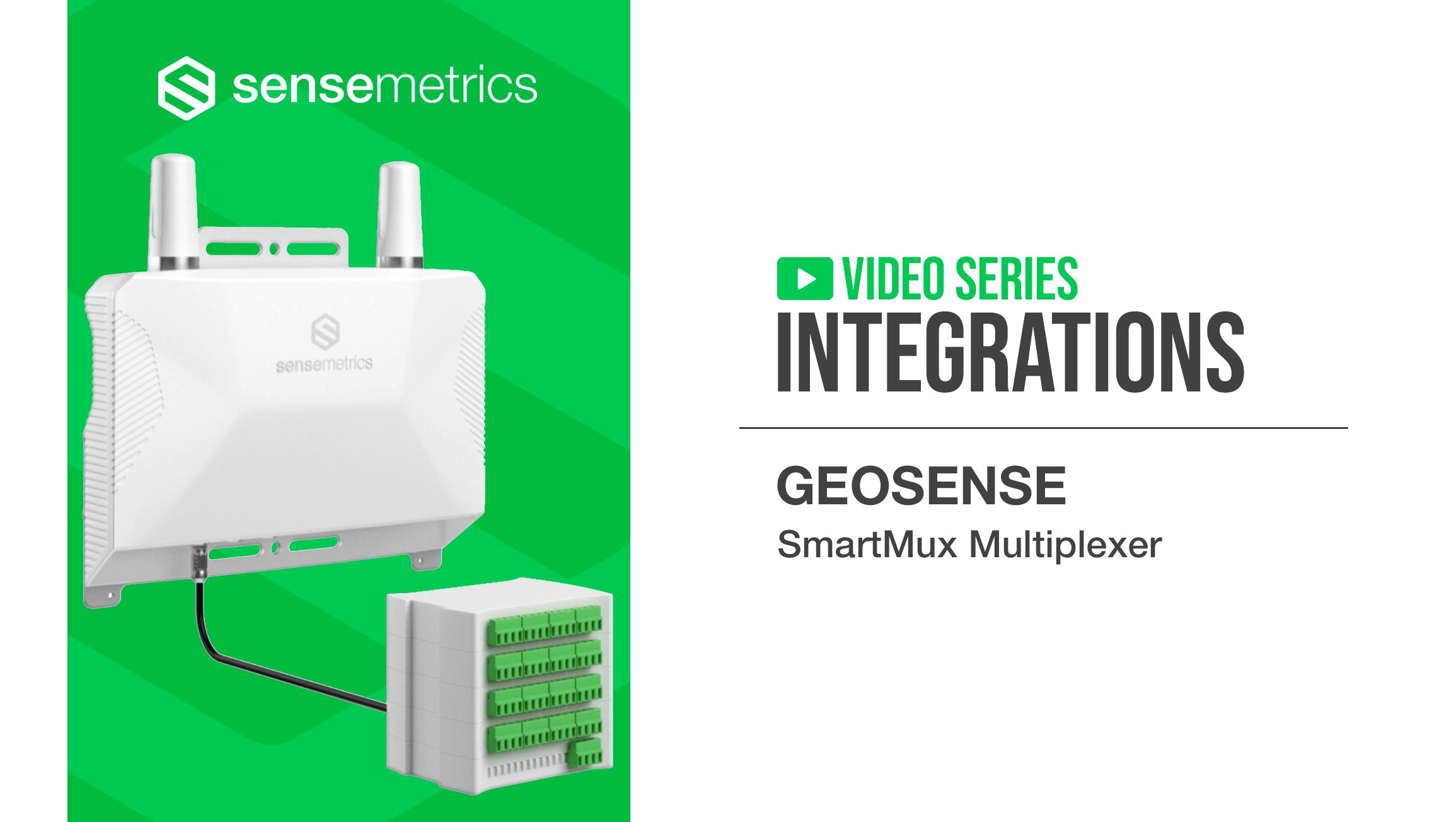 New Integration: Geosense SmartMux